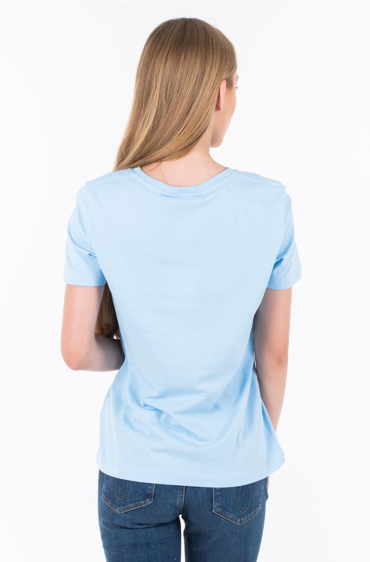 Marškinėliai TH ESS HILFIGER CREW NECK TEE SS-full-2