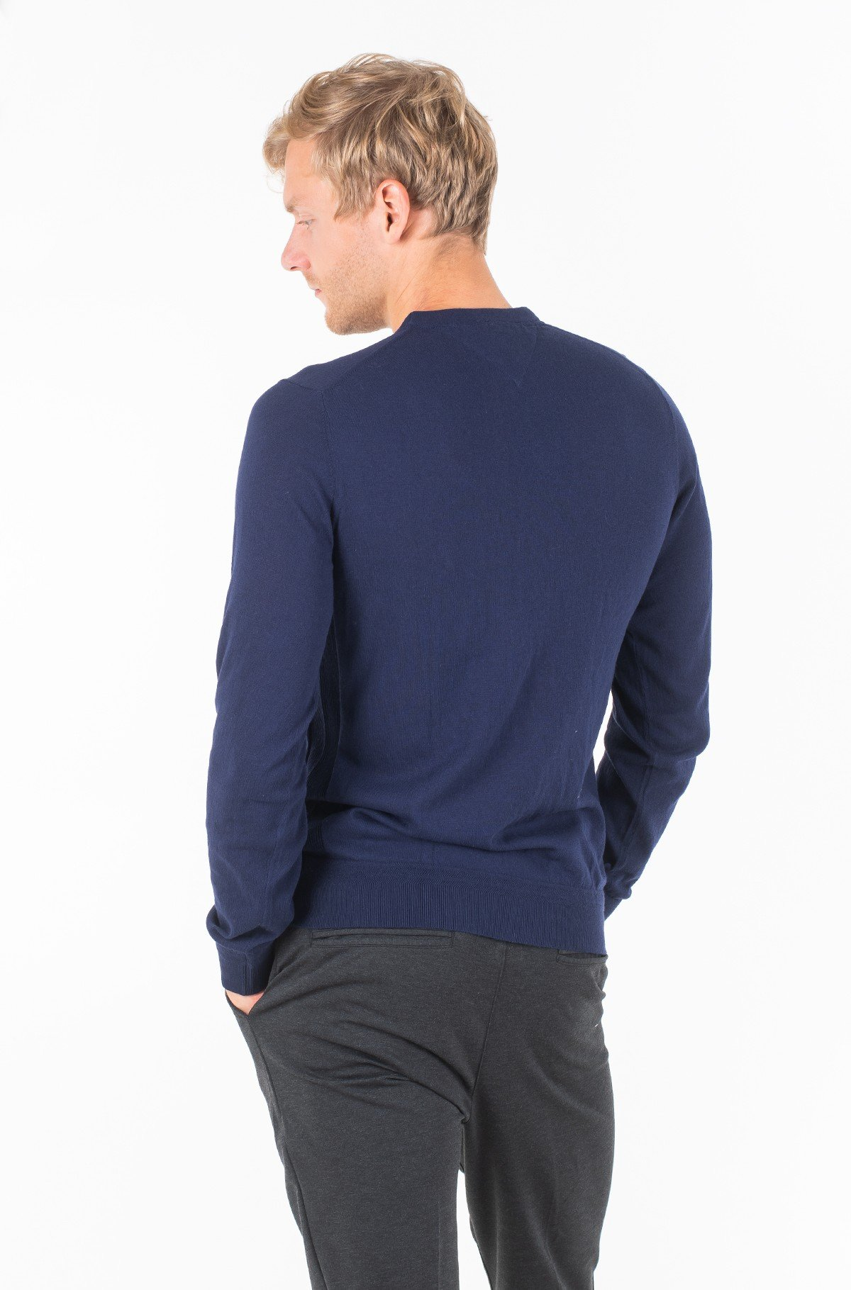 Sweater PERFORMANCE ORGANIC COTTON CREW-full-2