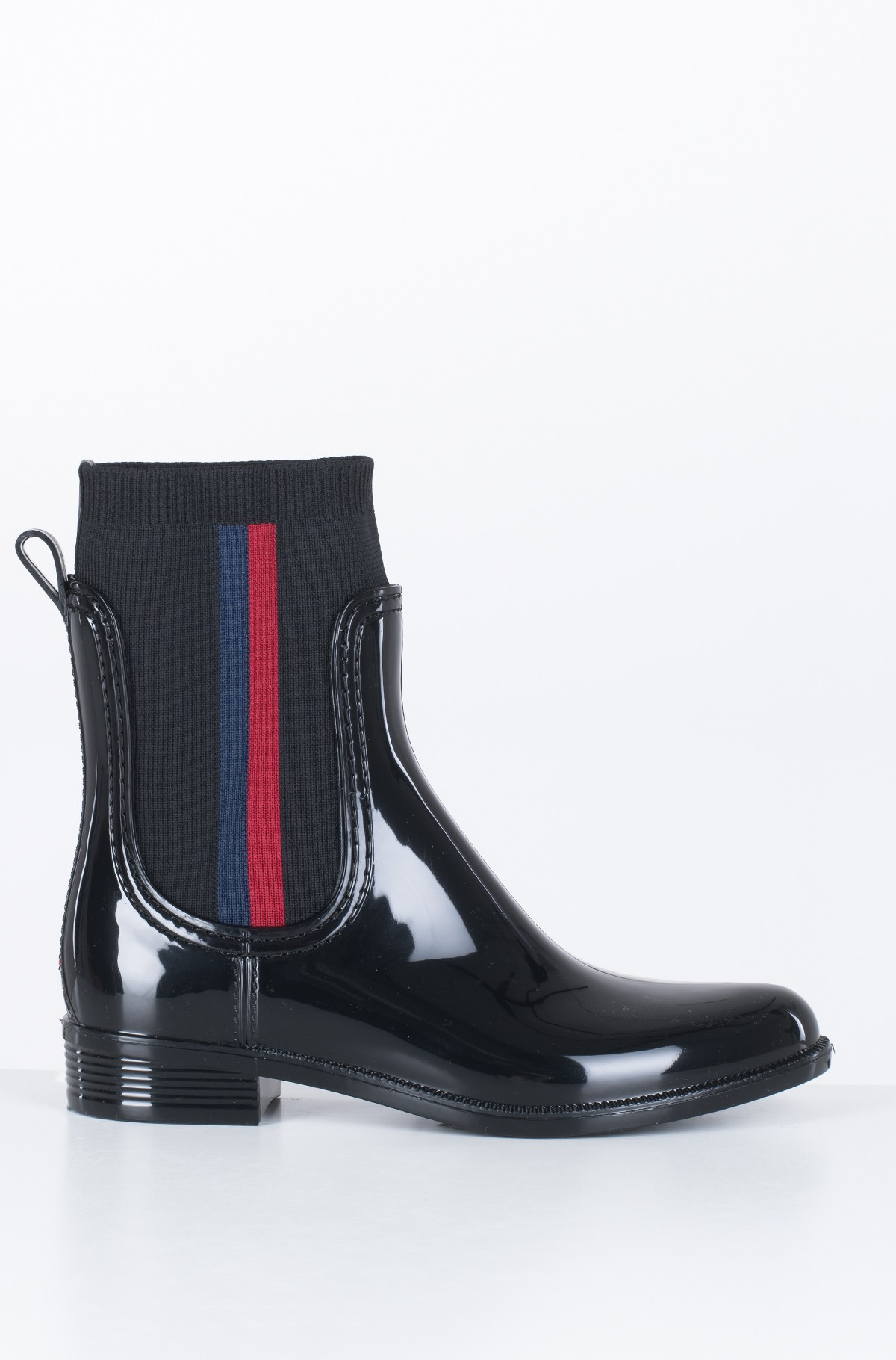 Guminiai batai KNITTED RAIN BOOT	-full-1