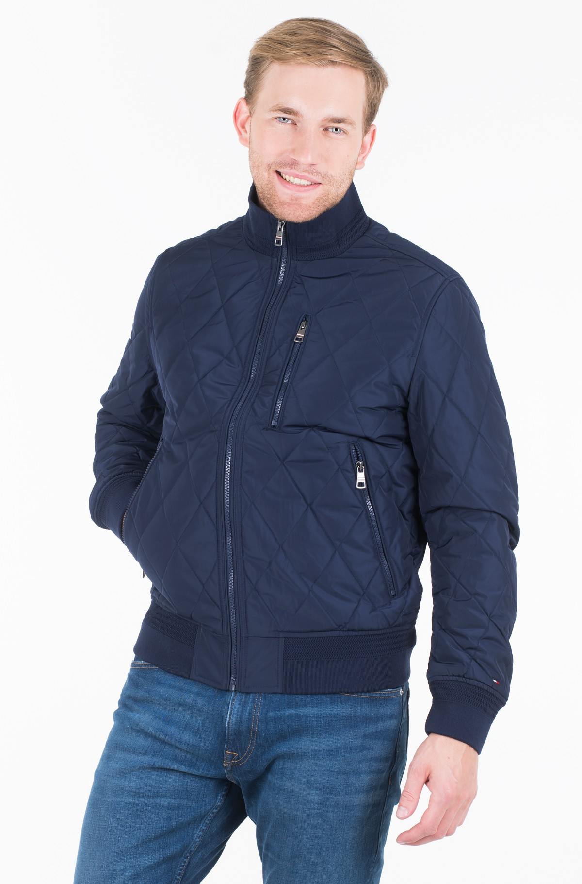 Striukė DIAMOND QUILTED BOMBER	-full-1