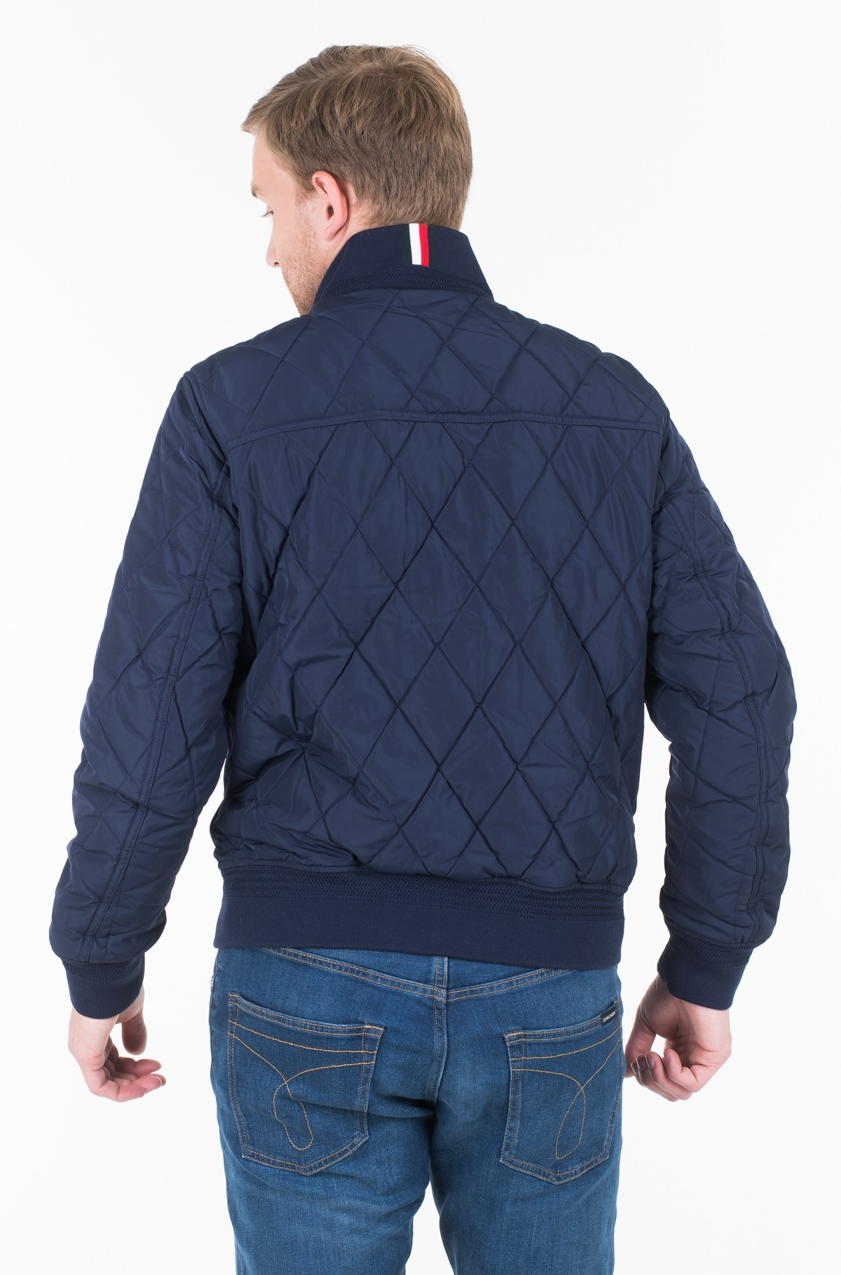 Striukė DIAMOND QUILTED BOMBER	-full-2