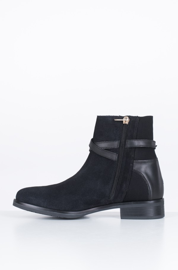 TH HARDWARE SUEDE FLAT BOOTIE-hover