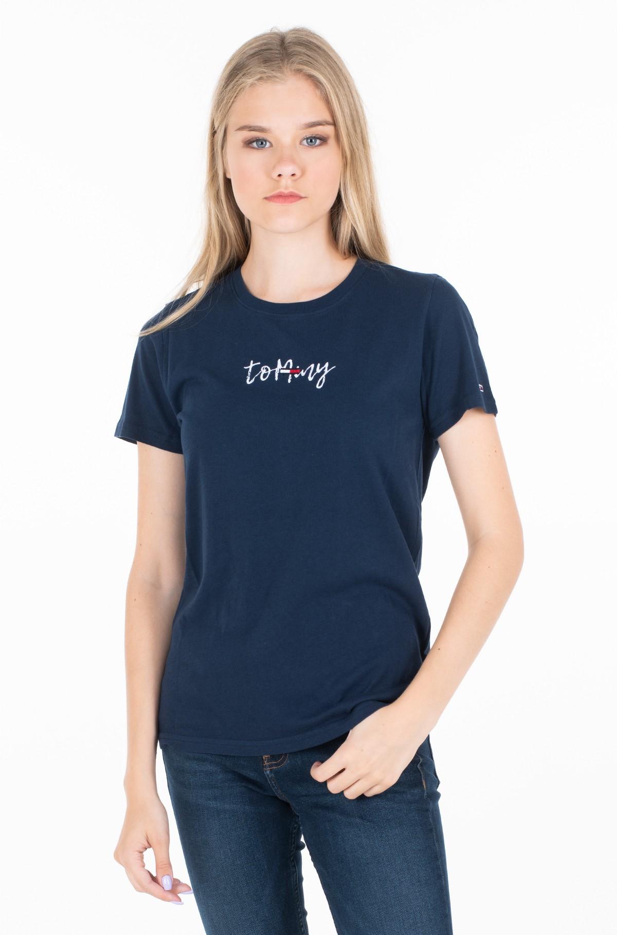 Marškinėliai TJW FLAG ON SCRIPT TEE-full-1