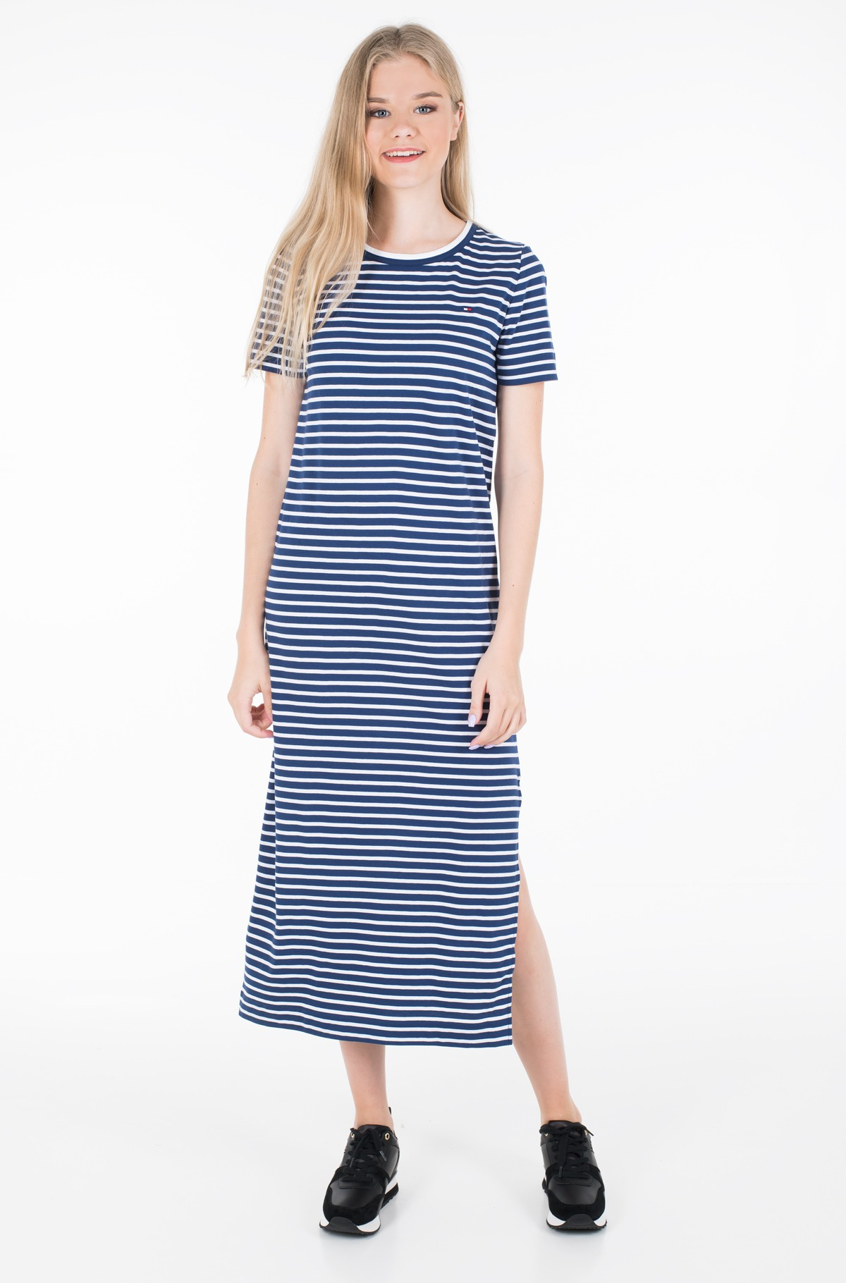 Suknelė TH ESSENTIAL CREW NECK DRESS SS	-full-1