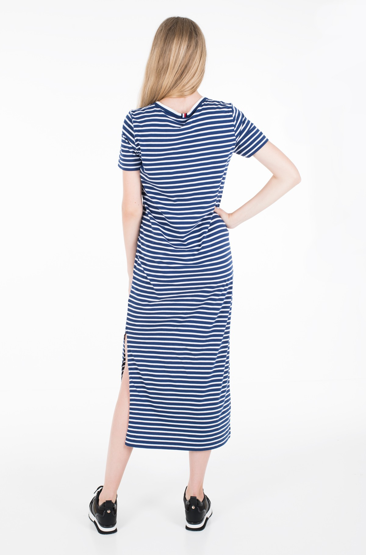 Suknelė TH ESSENTIAL CREW NECK DRESS SS-full-2