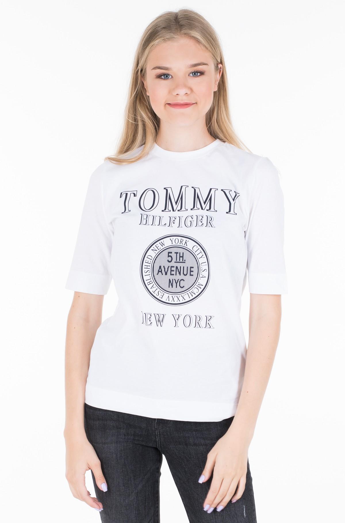 Marškinėliai DARCY C-NK TEE 1/2 SLV-full-1
