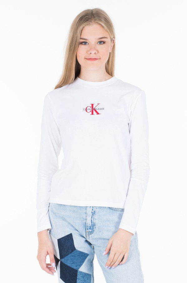 MONOGRAM EMBROIDERY LONG SLEEVE