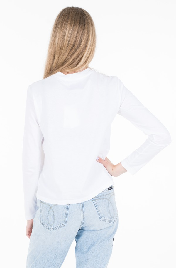 MONOGRAM EMBROIDERY LONG SLEEVE-hover
