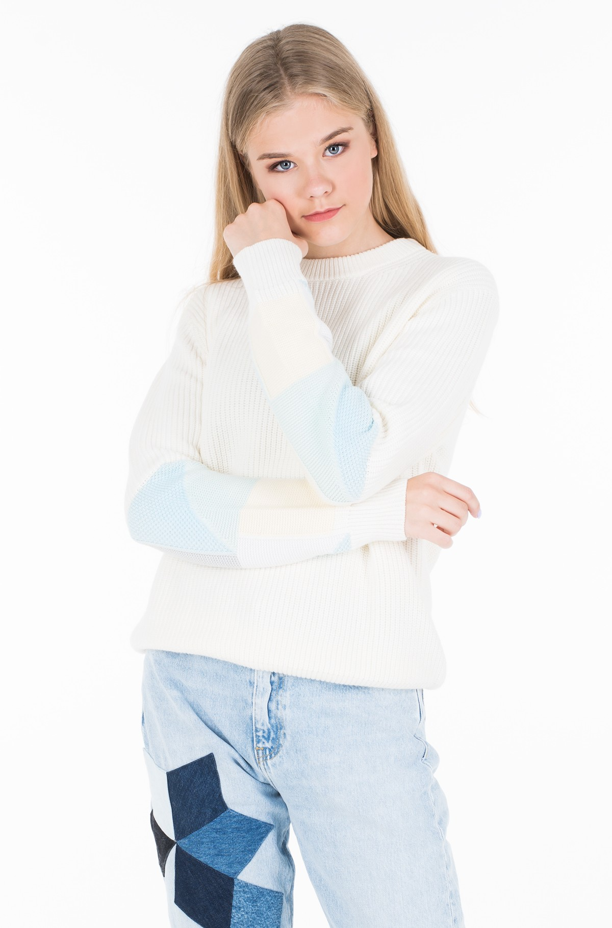 Sweater PATCHWORK SWEATER	-full-1