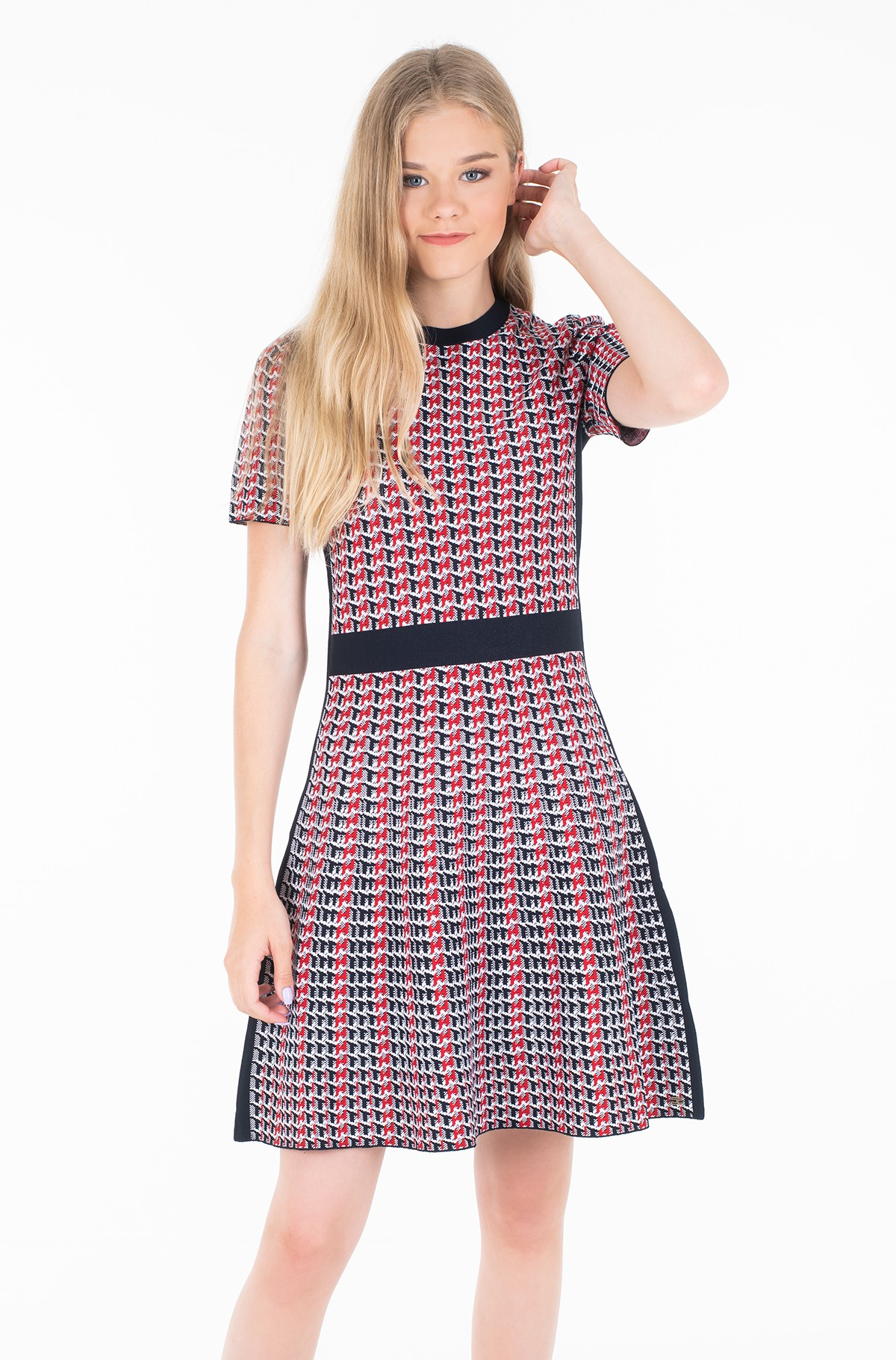 Megzta suknelė VARENA SWTR DRESS SS-full-1