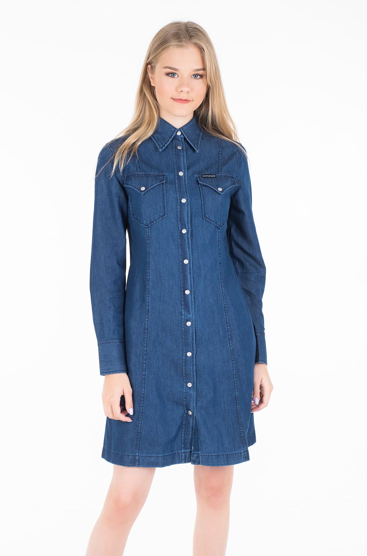 Džinsu kleita WESTERN INDIGO DRESS-full-1