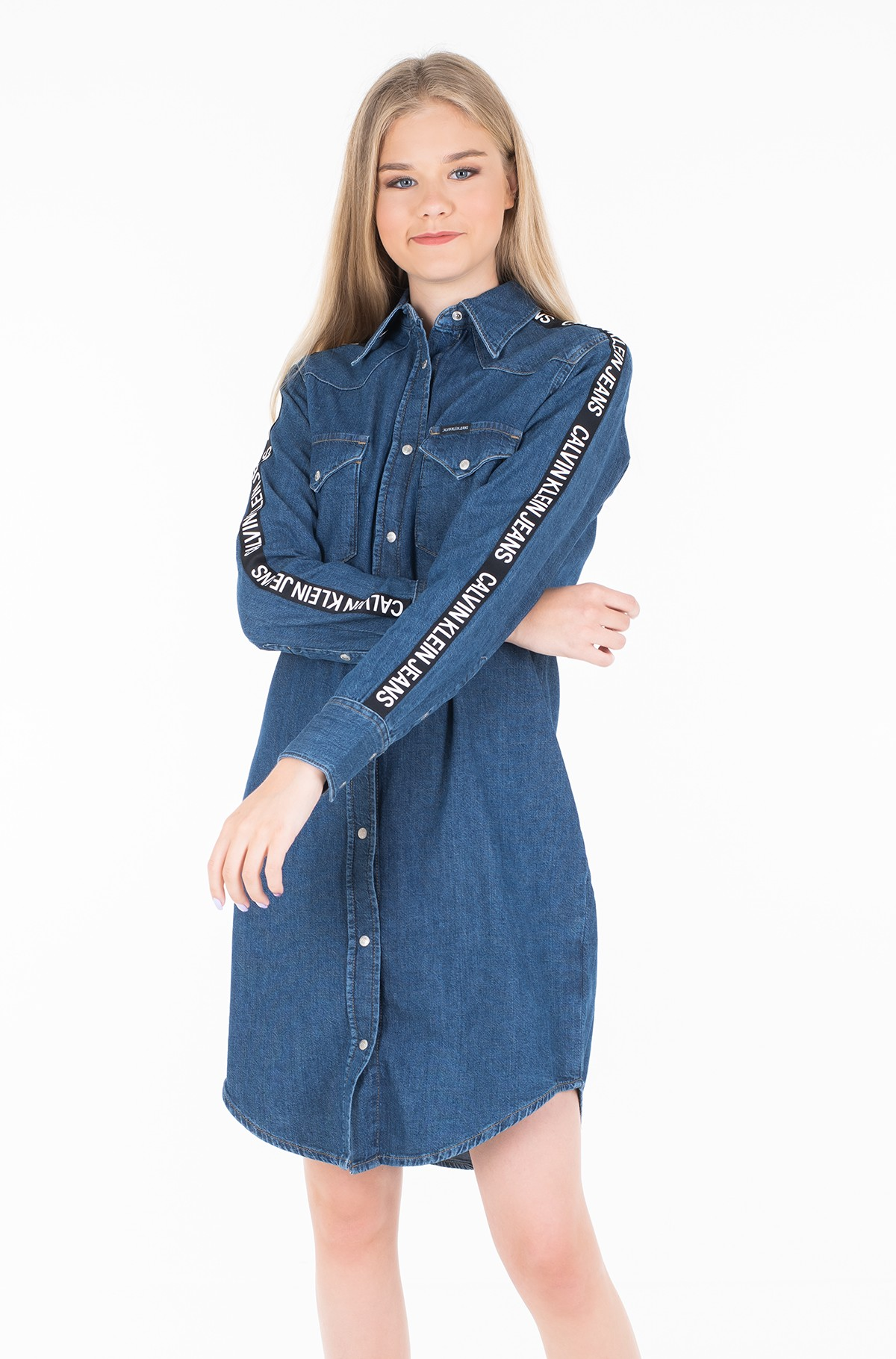 Džinsu kleita FOUNDATION WESTERN DRESS-full-1