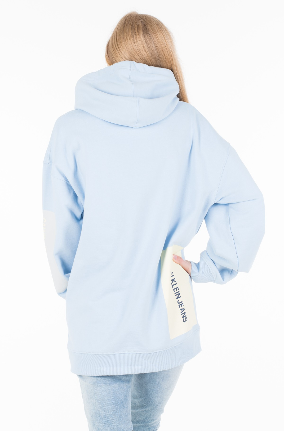 Džemperis MULTI LOGO OVERSIZED HOODIE	-full-2
