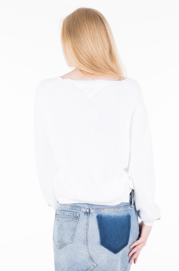 TJW SLEEVE DETAIL SWEATER-hover