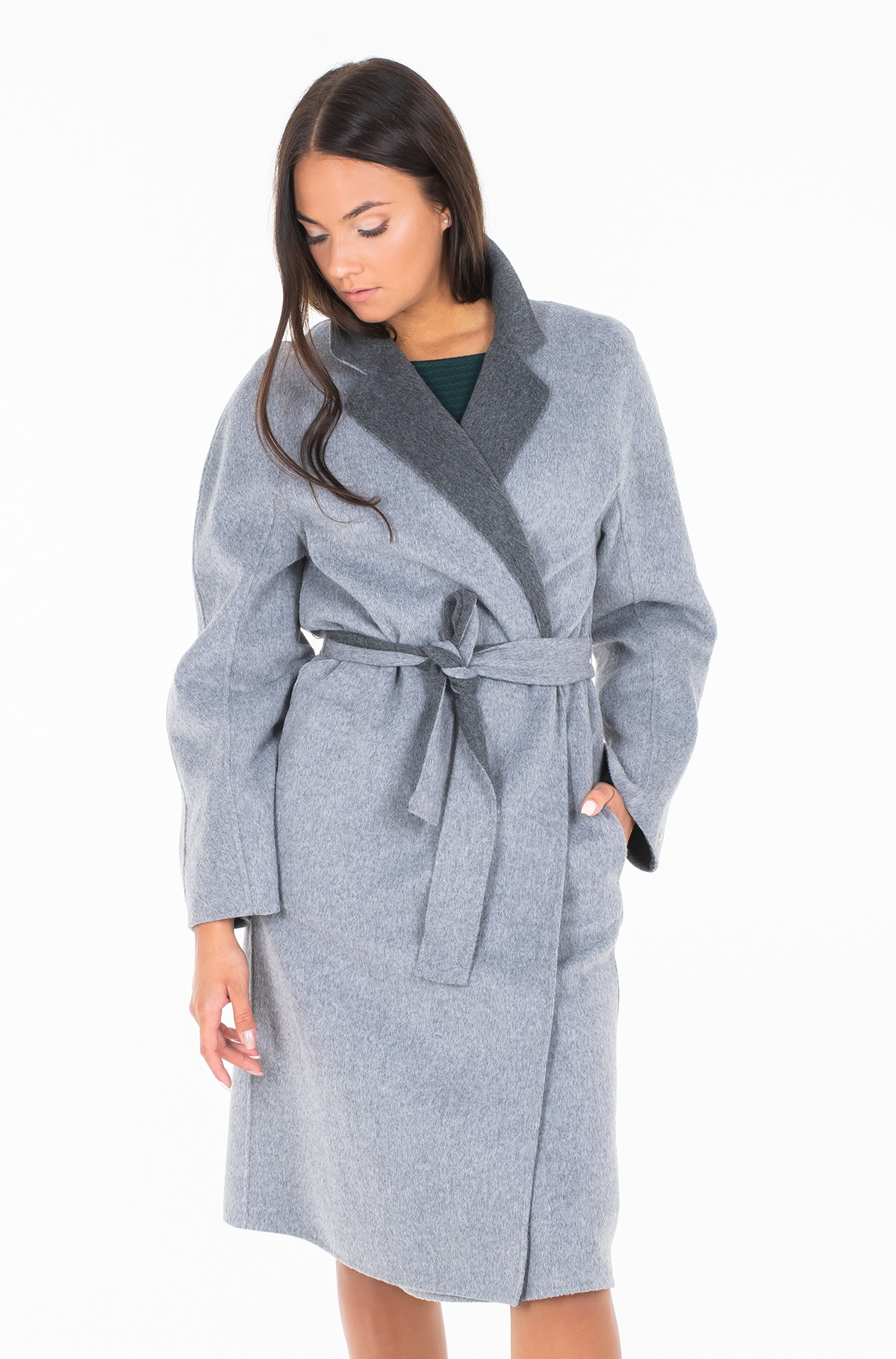 Coat ALISON REV WOOL BLEND COAT-full-1