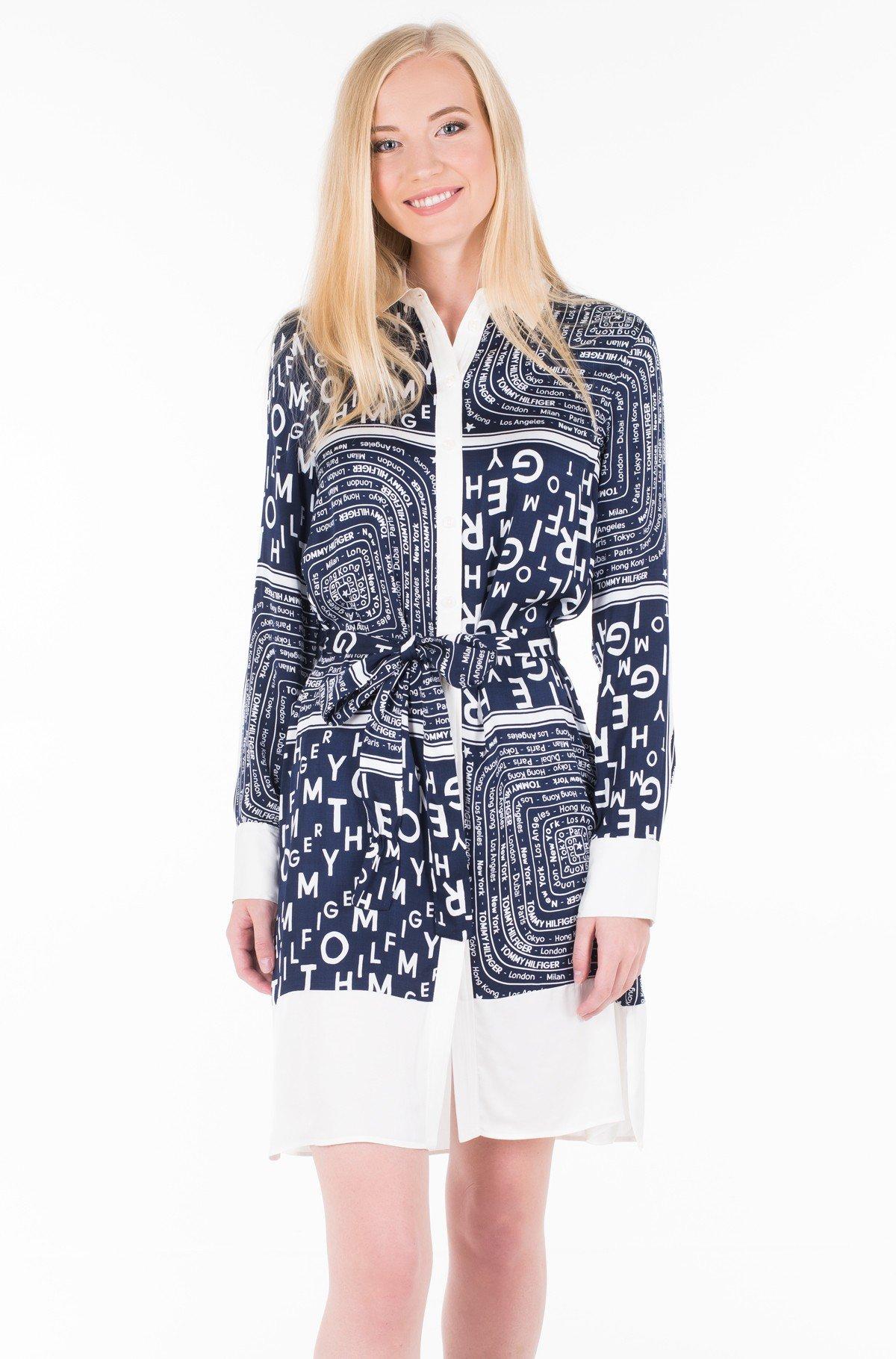 Kleit FLORENCE SHIRT DRESS LS-full-1