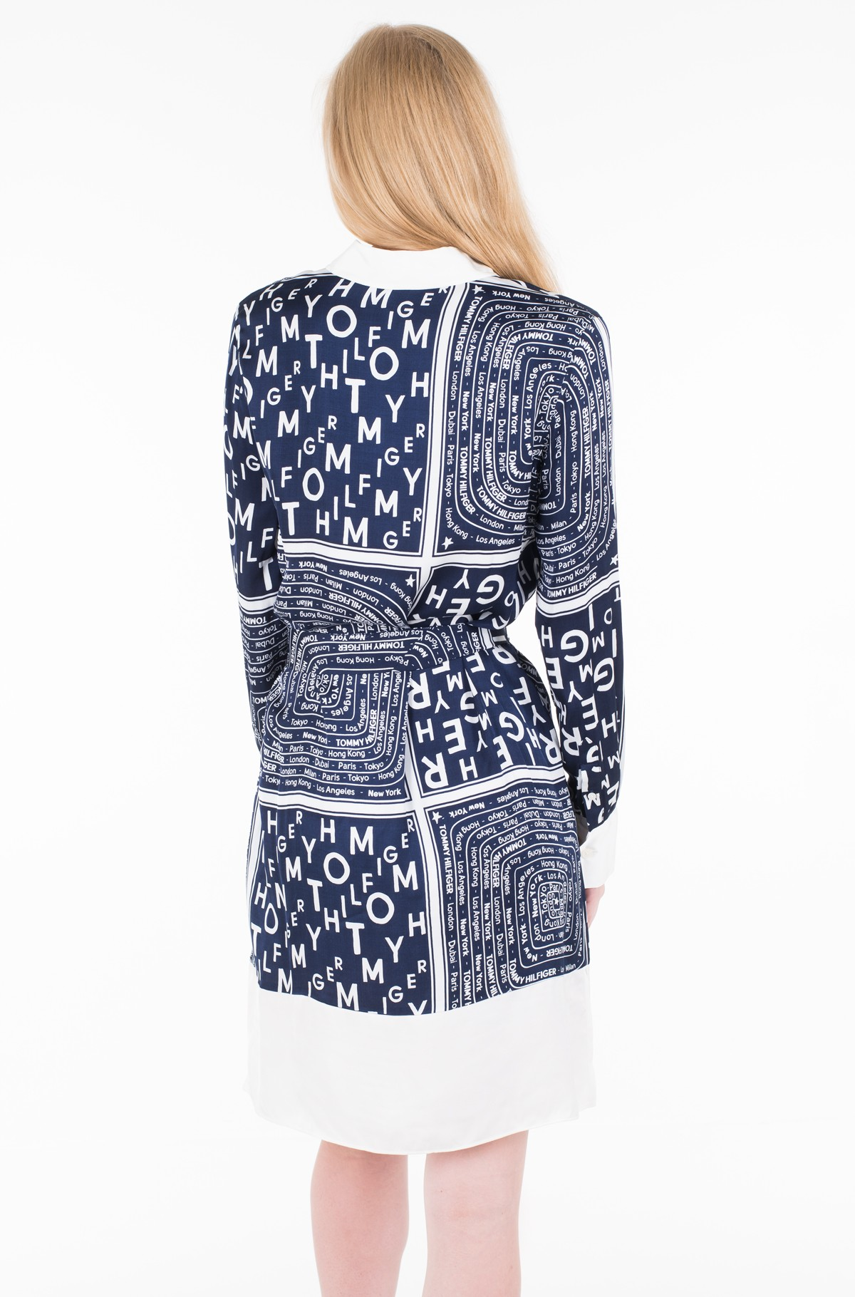 Kleit FLORENCE SHIRT DRESS LS-full-2