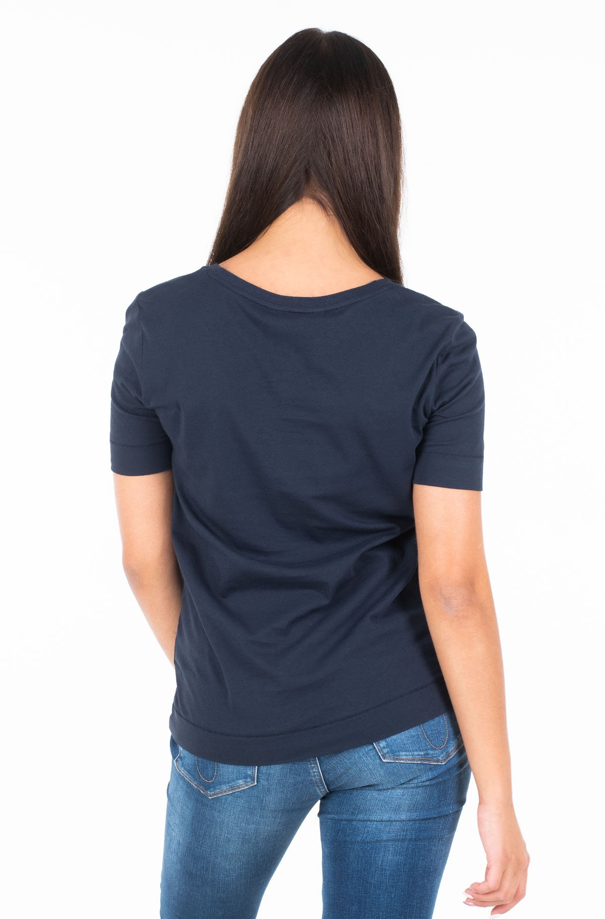 Marškinėliai DORA SCOOP-NK TEE SS-full-2