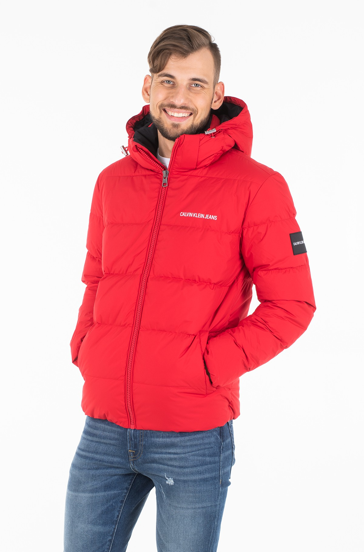 Striukė HOODED DOWN PUFFER JACKET	-full-1