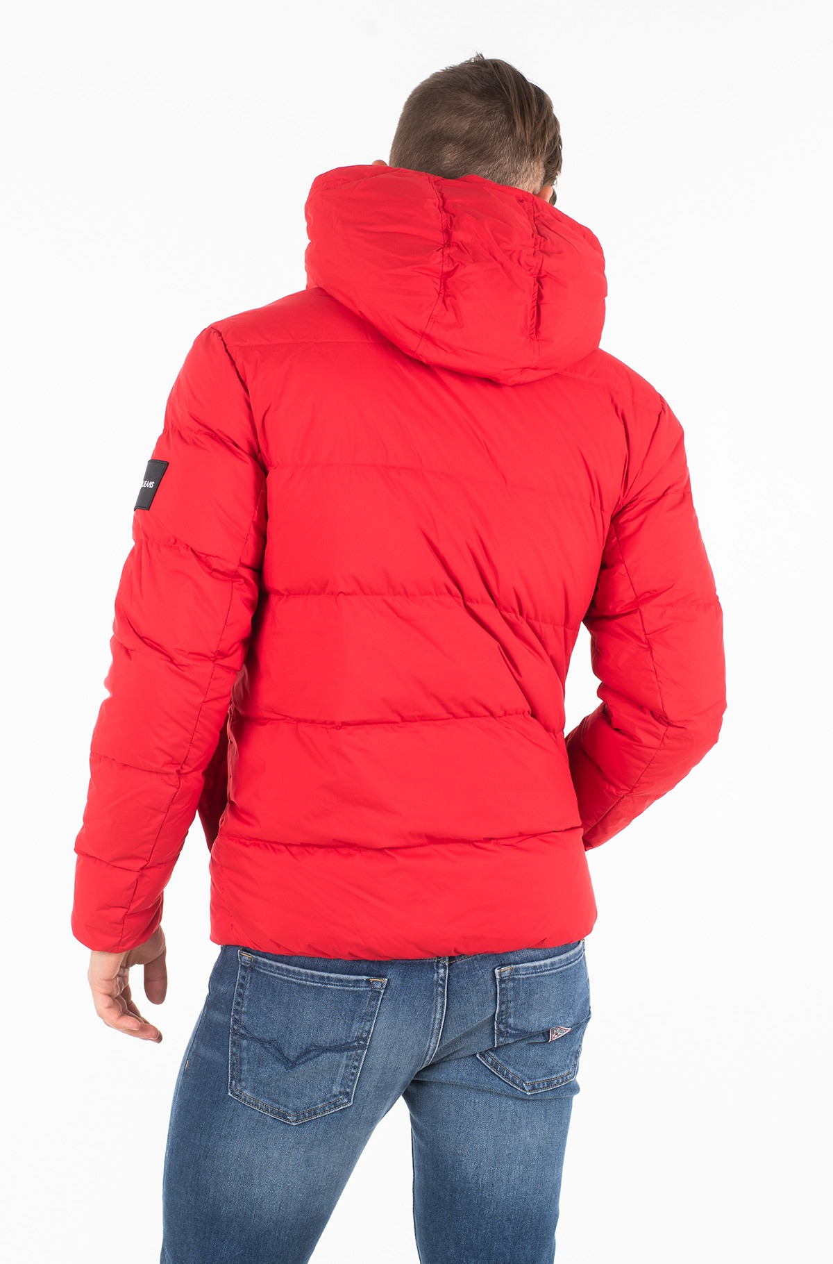 Striukė HOODED DOWN PUFFER JACKET	-full-2