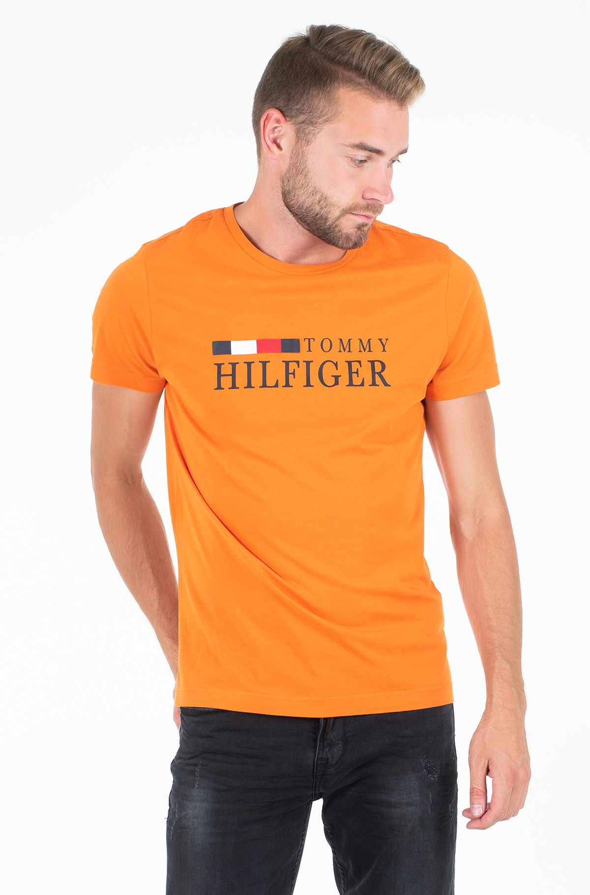 Marškinėliai RWB TOMMY HILFIGER TEE-full-1