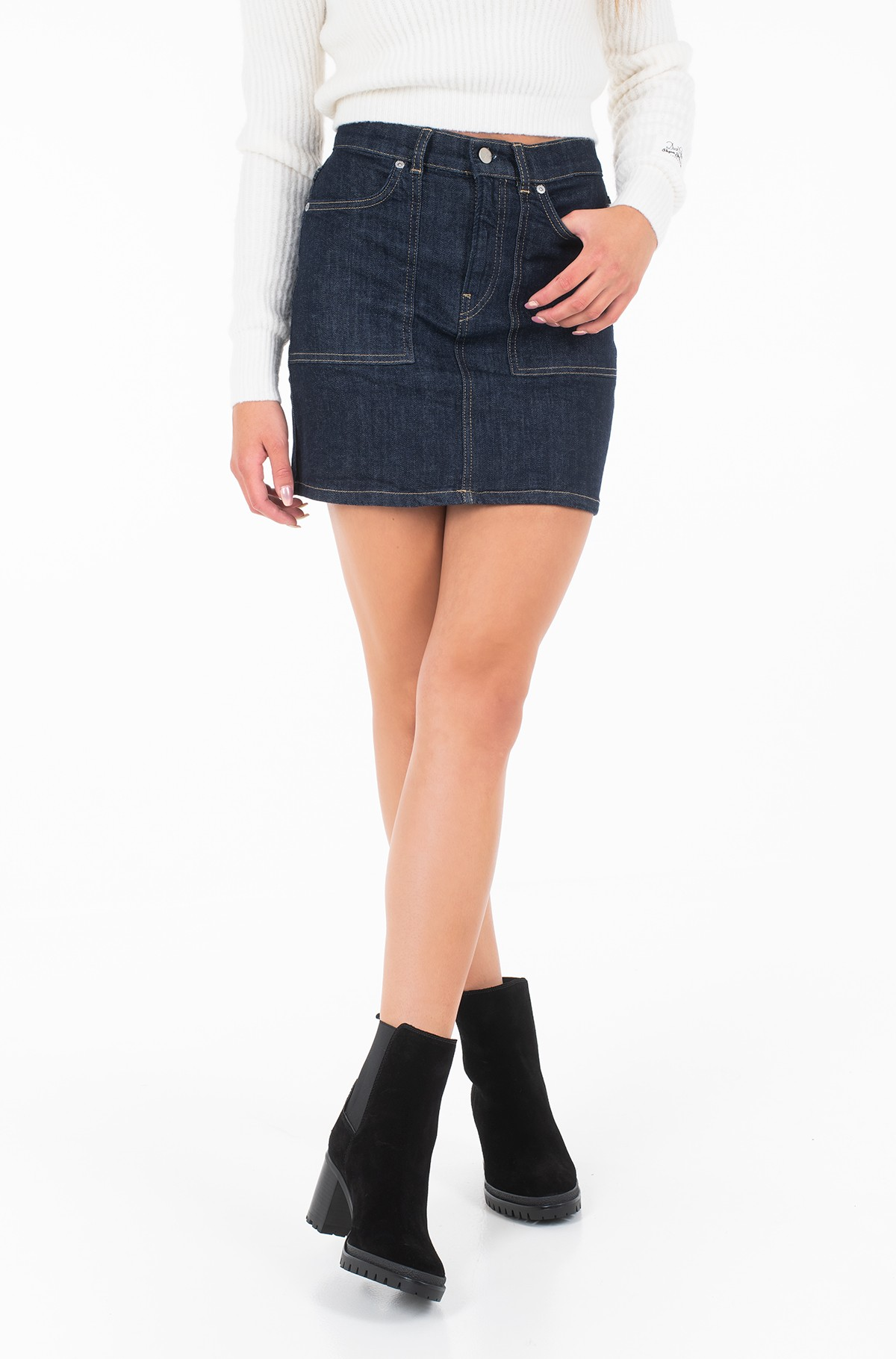 Denim skirt  MIA/PL900846	-full-1