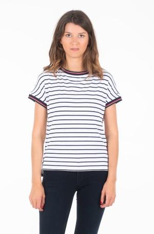 Marškinėliai TJW CREPE STRIPE TEE-1
