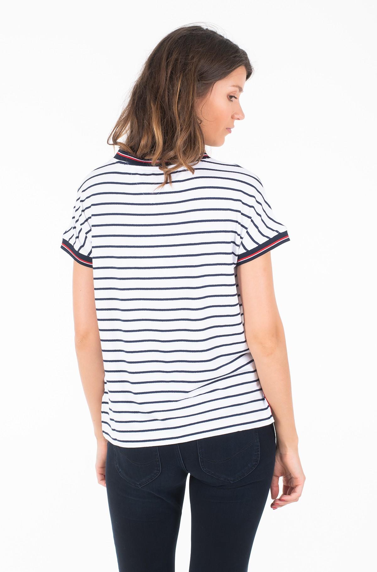 Marškinėliai TJW CREPE STRIPE TEE-full-2