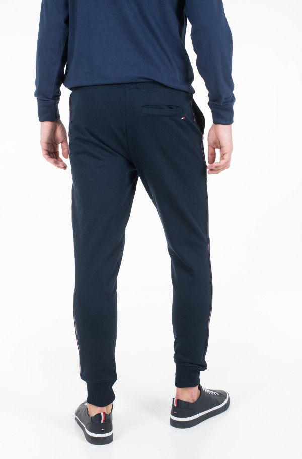 GLOBAL STRIPED SWEATPANTS-hover