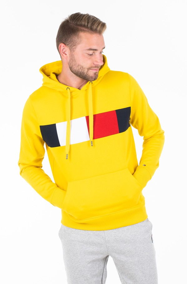 FLAG CHEST INSERT HOODY