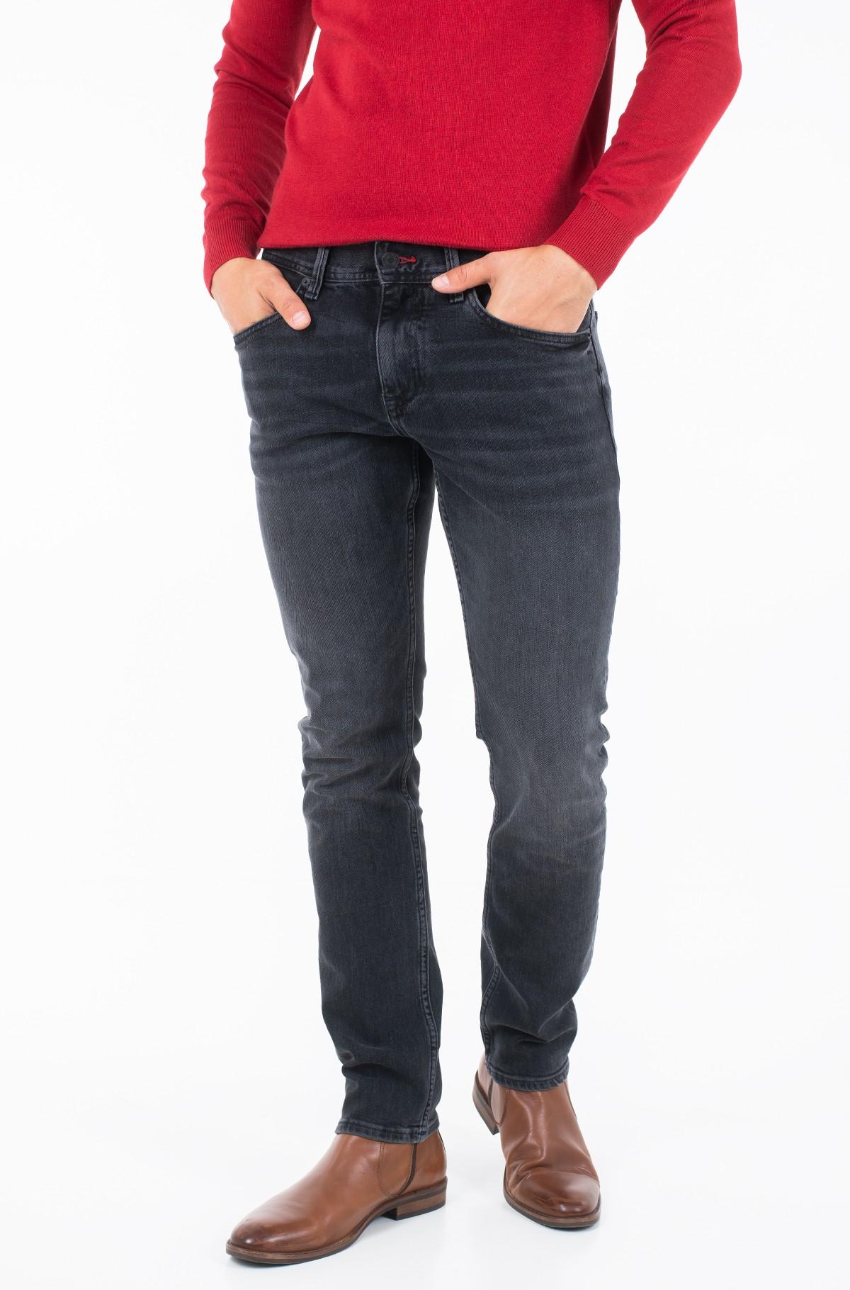 Džinsinės kelnės SLIM BLEECKER STR CODY BLACK-full-1