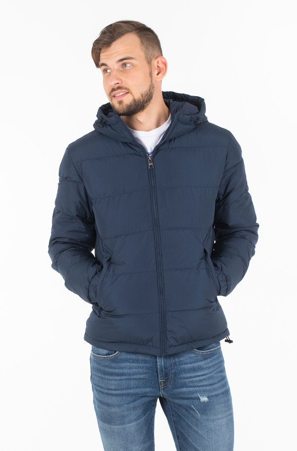 HOODED REDOWN BOMBER