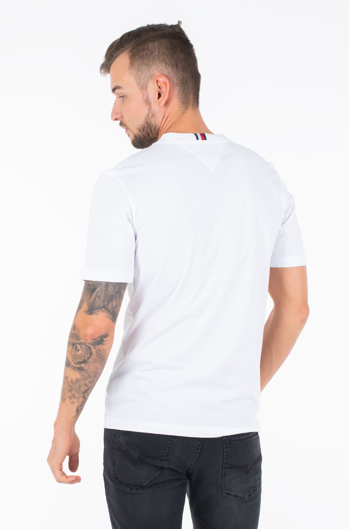Marškinėliai ROWING ISSUE RELAXED FIT TEE-full-2