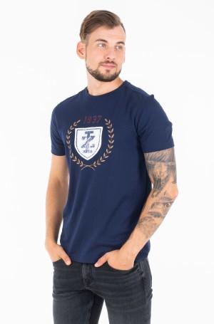 Marškinėliai CREST PRINTED TEE-1