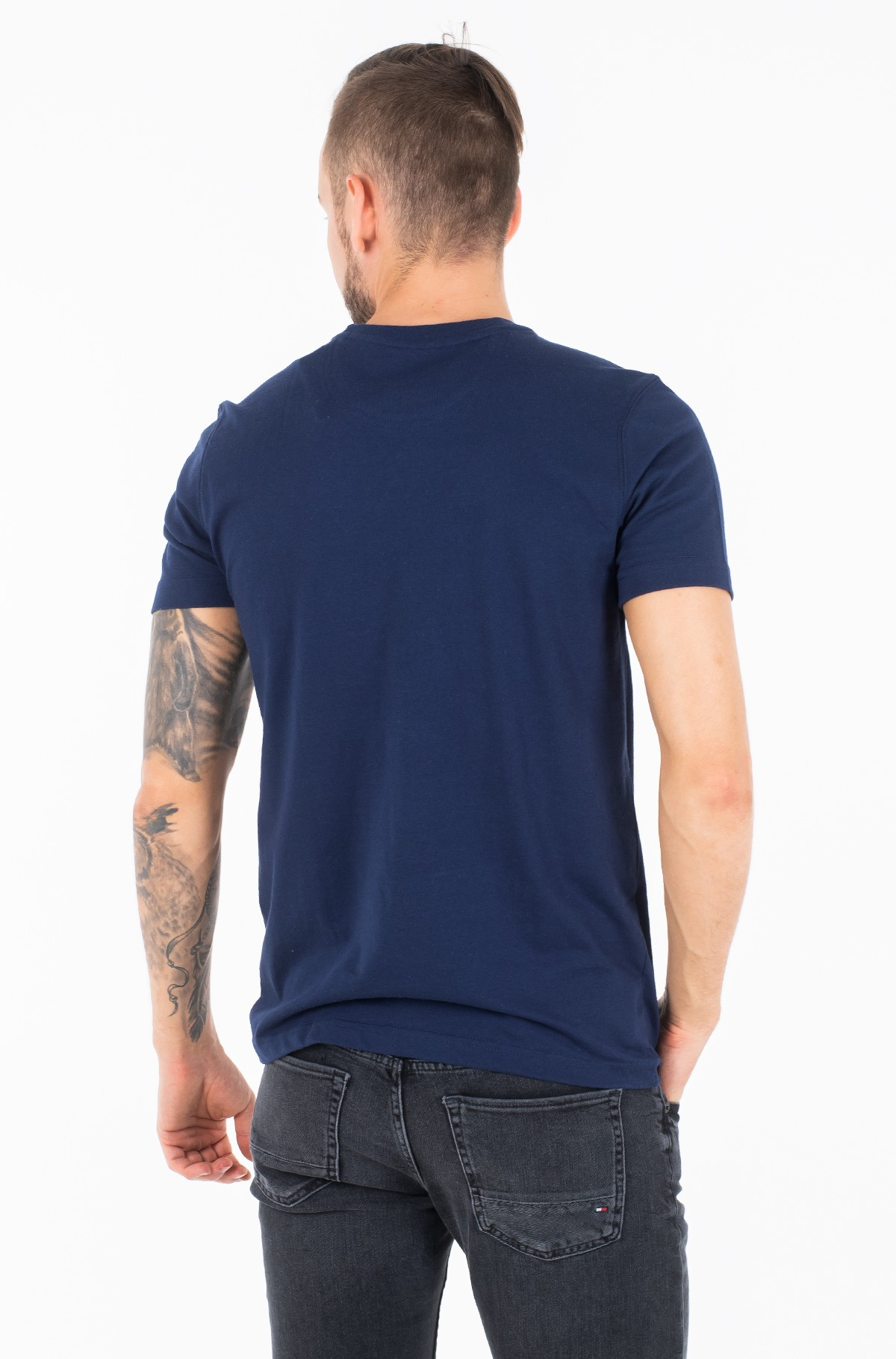 Marškinėliai CREST PRINTED TEE-full-2