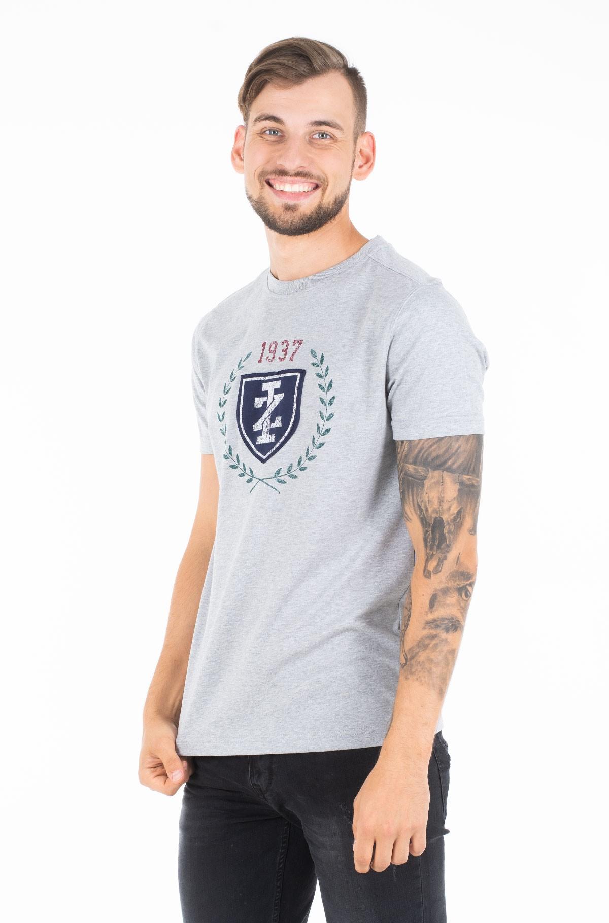 Marškinėliai CREST PRINTED TEE-full-1
