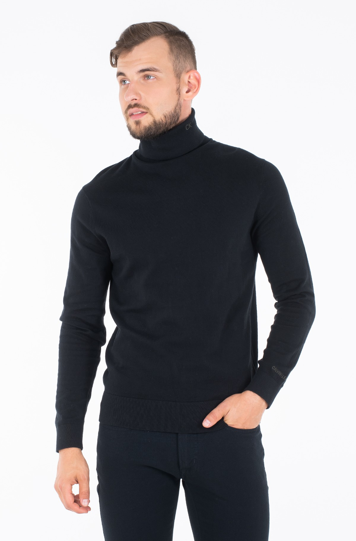 Sweater TURTLE NECK SWEATER-full-1