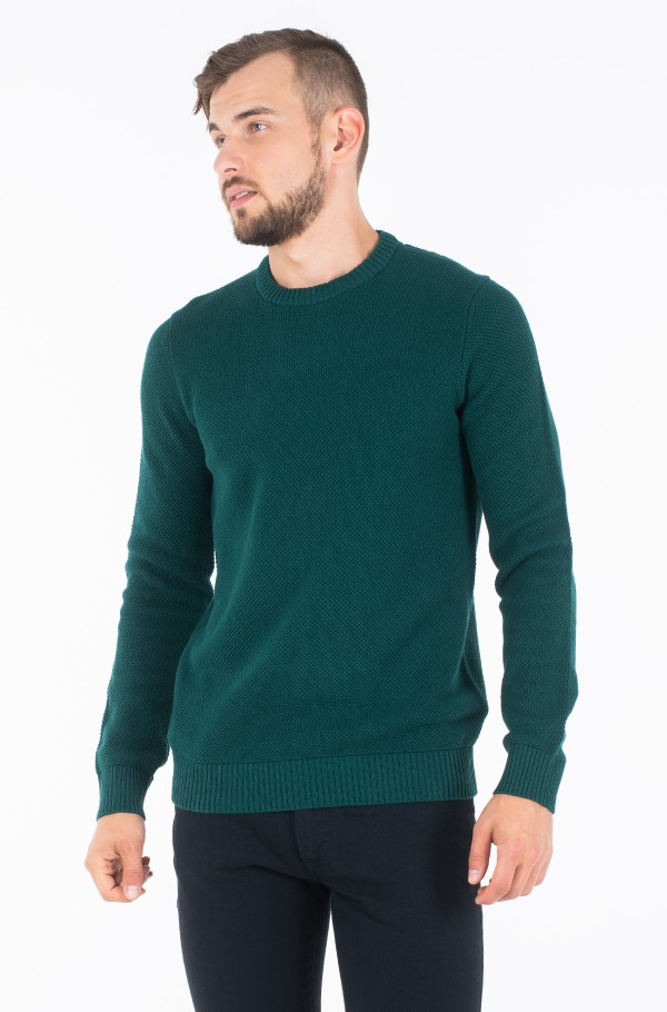 9GG TEXTURED C-NECK SWEATER