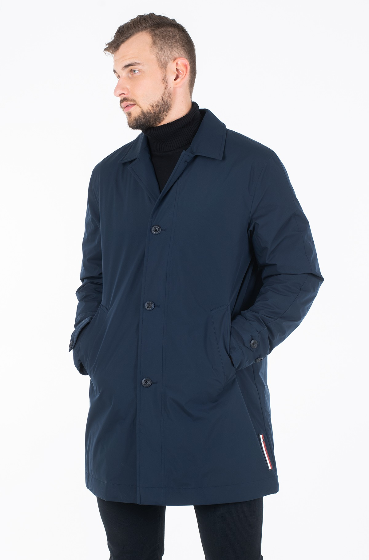 Mantel STRETCH PADDED CARCOAT-full-1