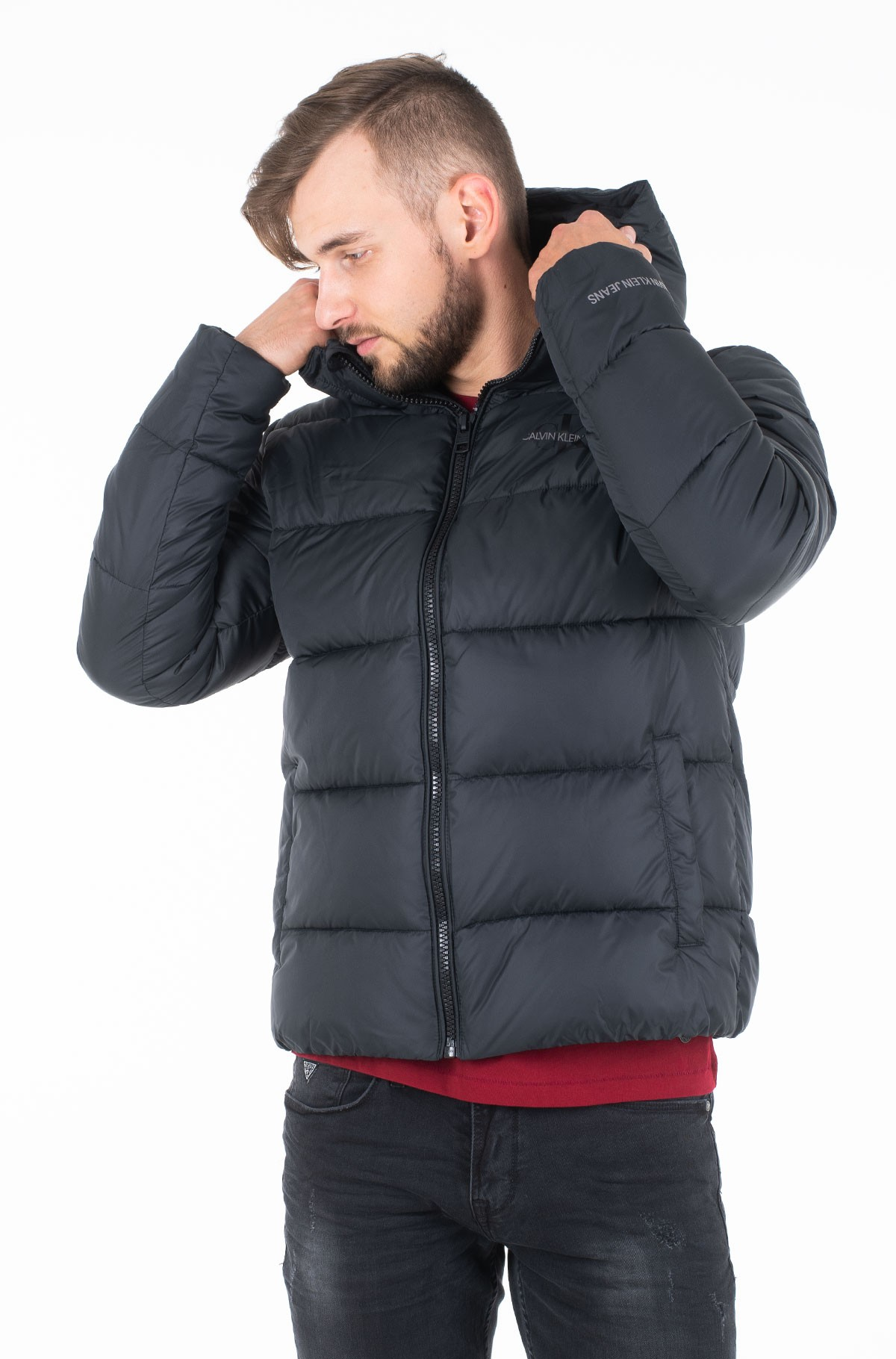 Jope MONOGRAM PADDED JACKET-full-1