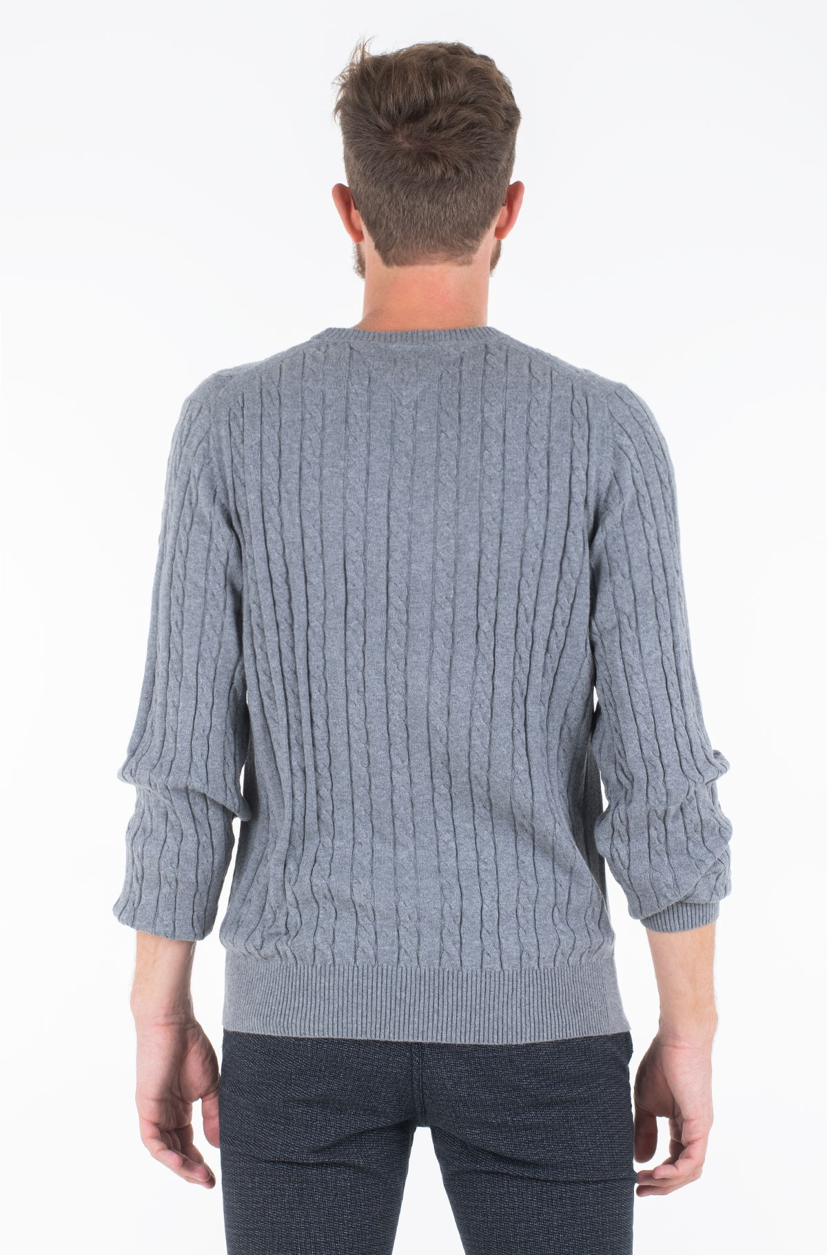 Džemperis CLASSIC CABLE CREW NECK	-full-2