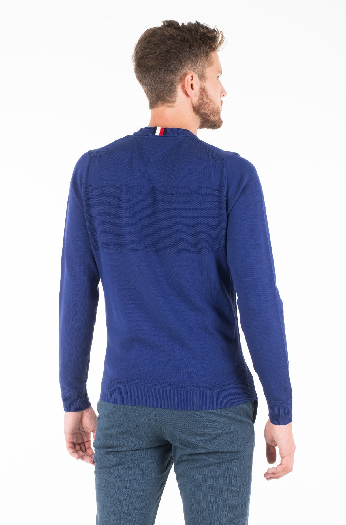 Sweater PLACED STRUCTURE BRANDED SWEATER-full-2