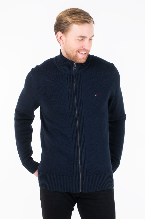 CHUNKY COTTON ZIP THROUGH
