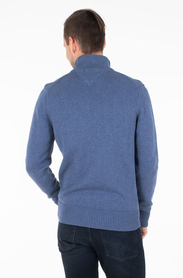 CHUNKY COTTON ZIP THROUGH-hover