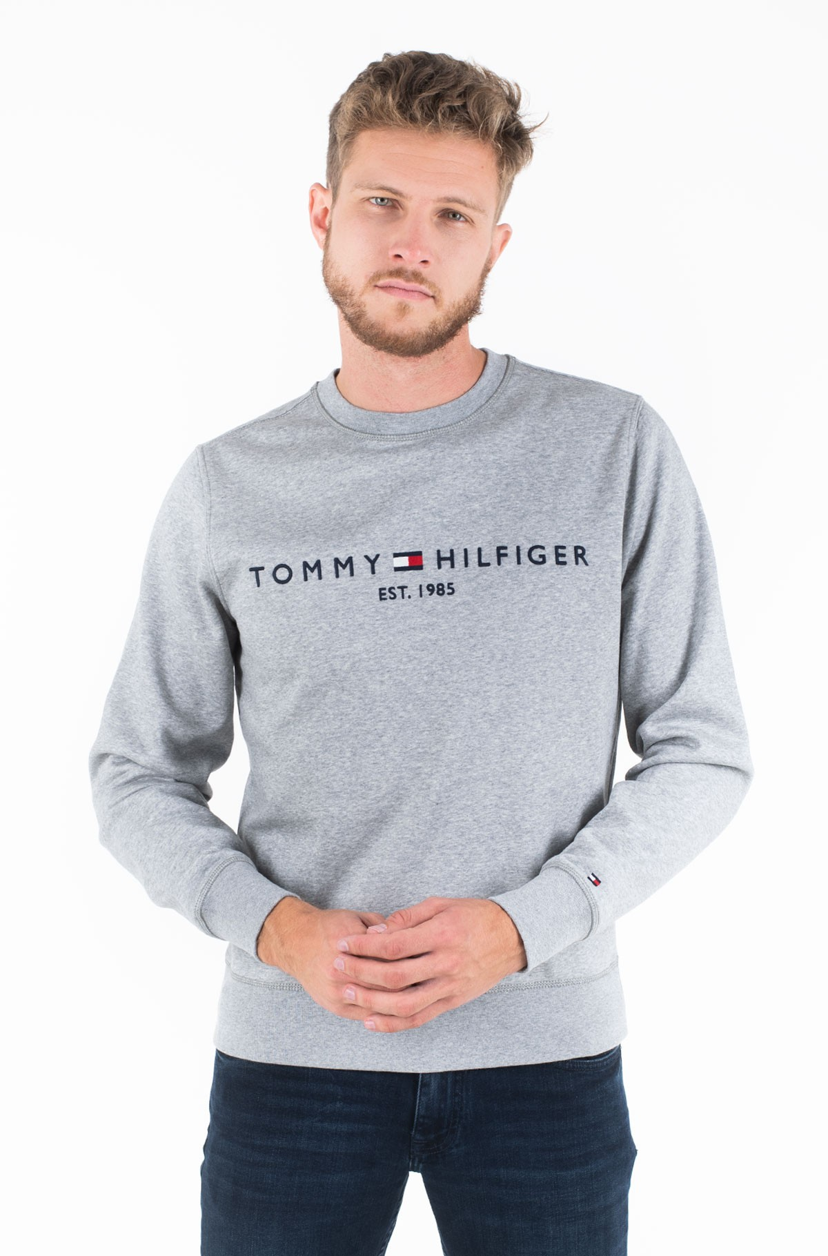 Džemperis TOMMY LOGO SWEATSHIRT-full-1