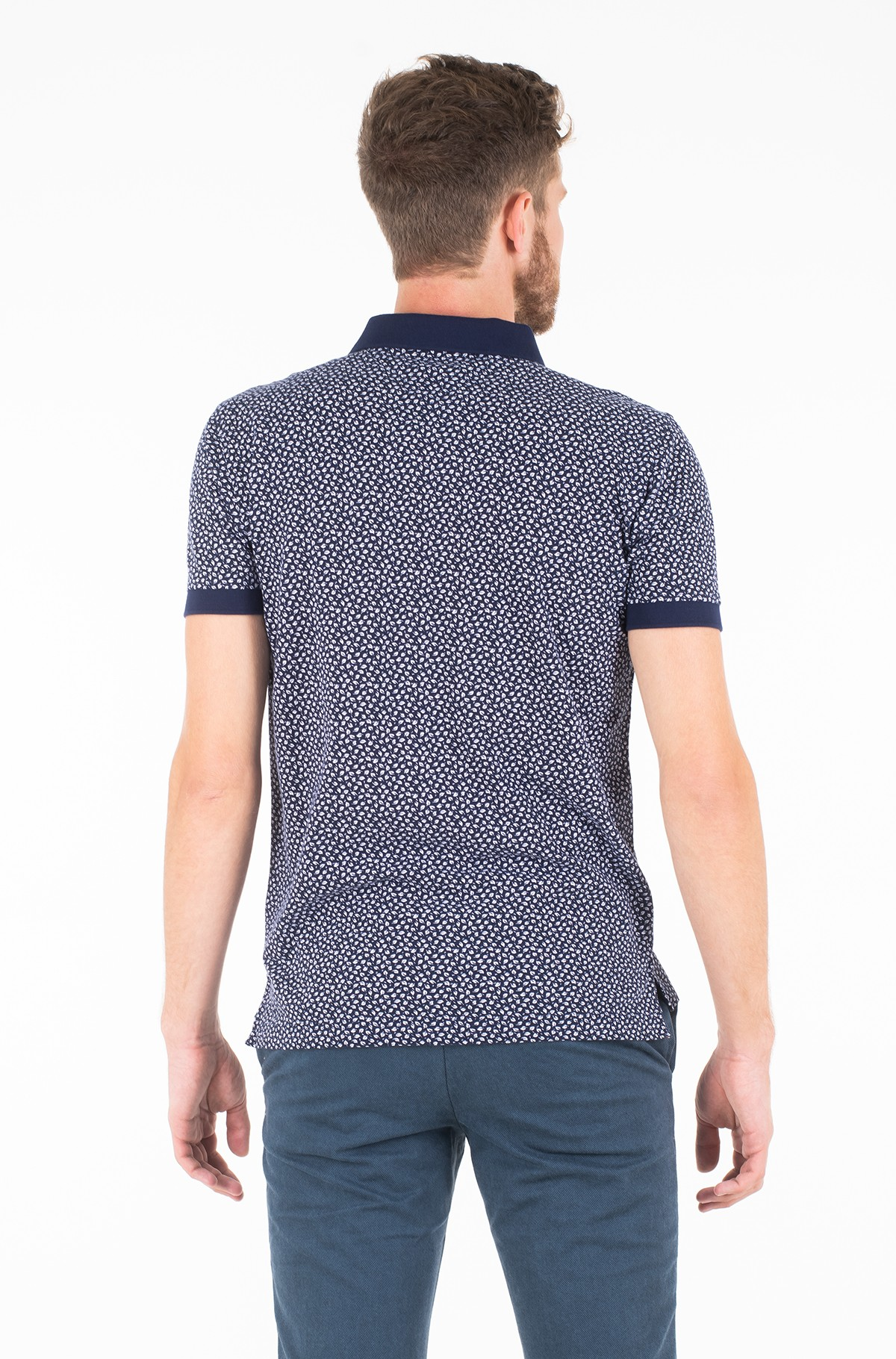 Polo MICRO PRINT REGULAR POLO-full-2