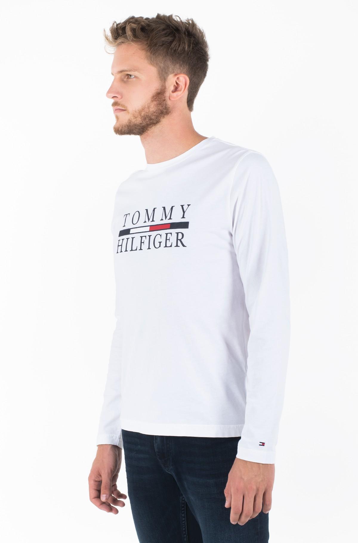 Pikkade käistega t-särk TOMMY HILFIGER LONG SLEEVE TEE-full-1