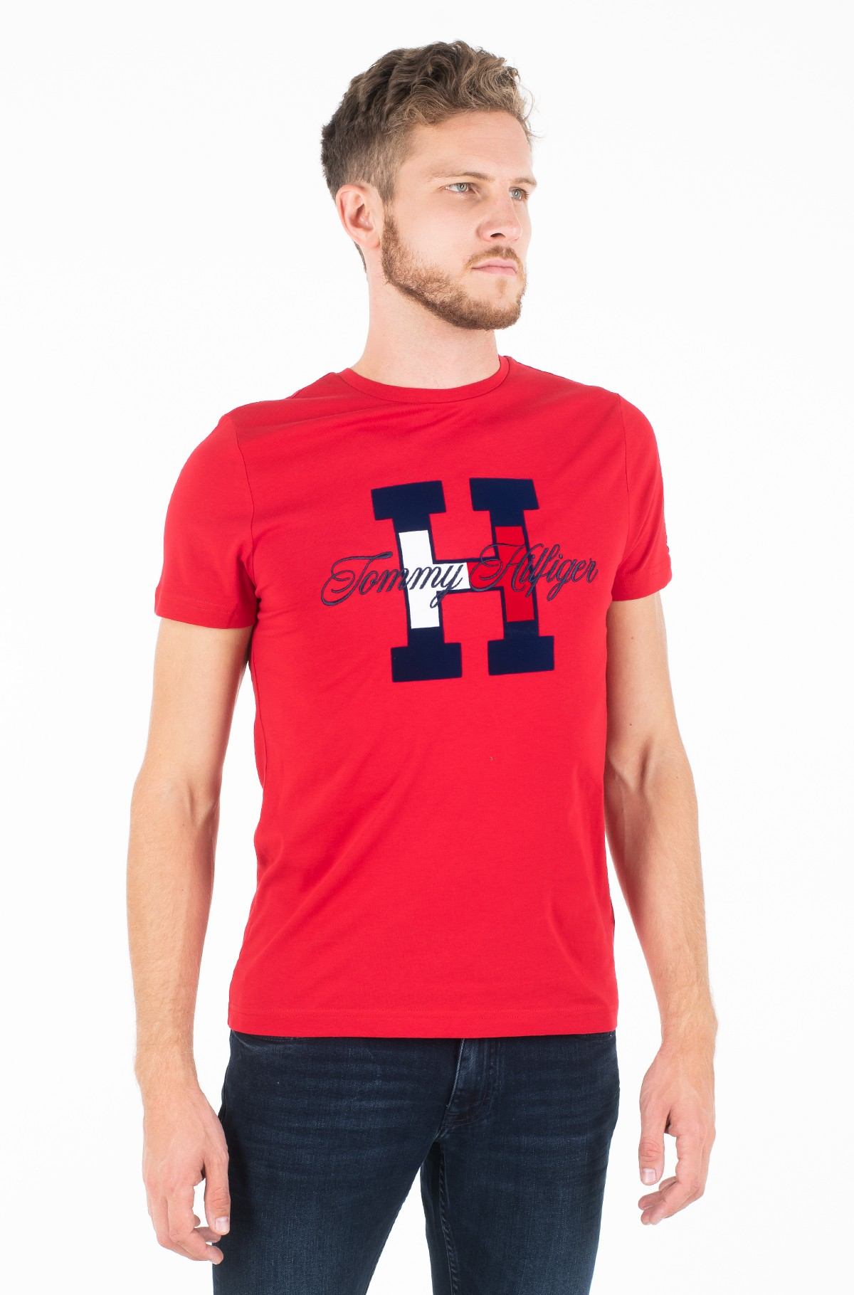 Marškinėliai FLAG SCRIPT TEE-full-1