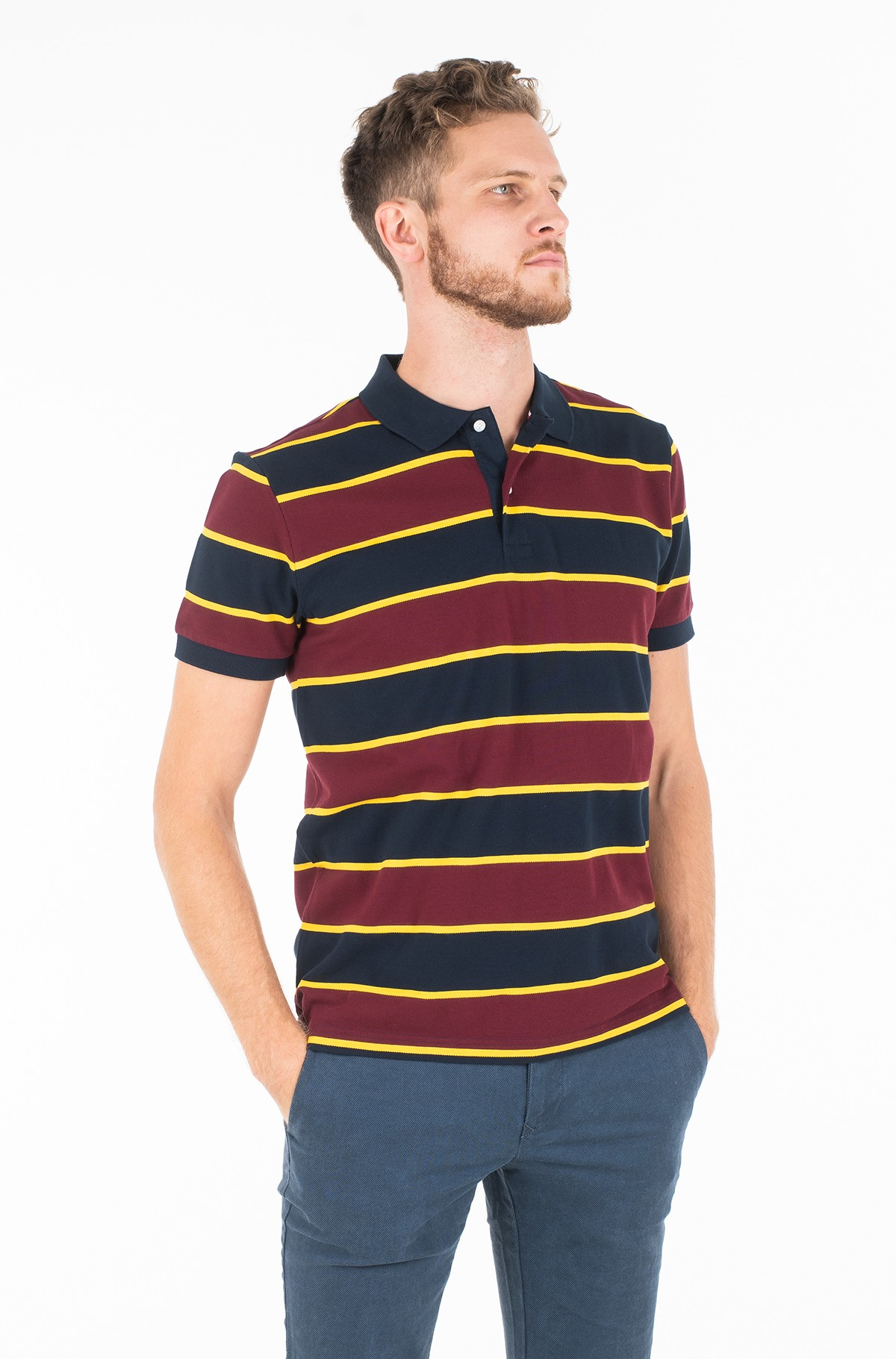 Polo STRUCTURE MULTI COLOR REG POLO-full-1