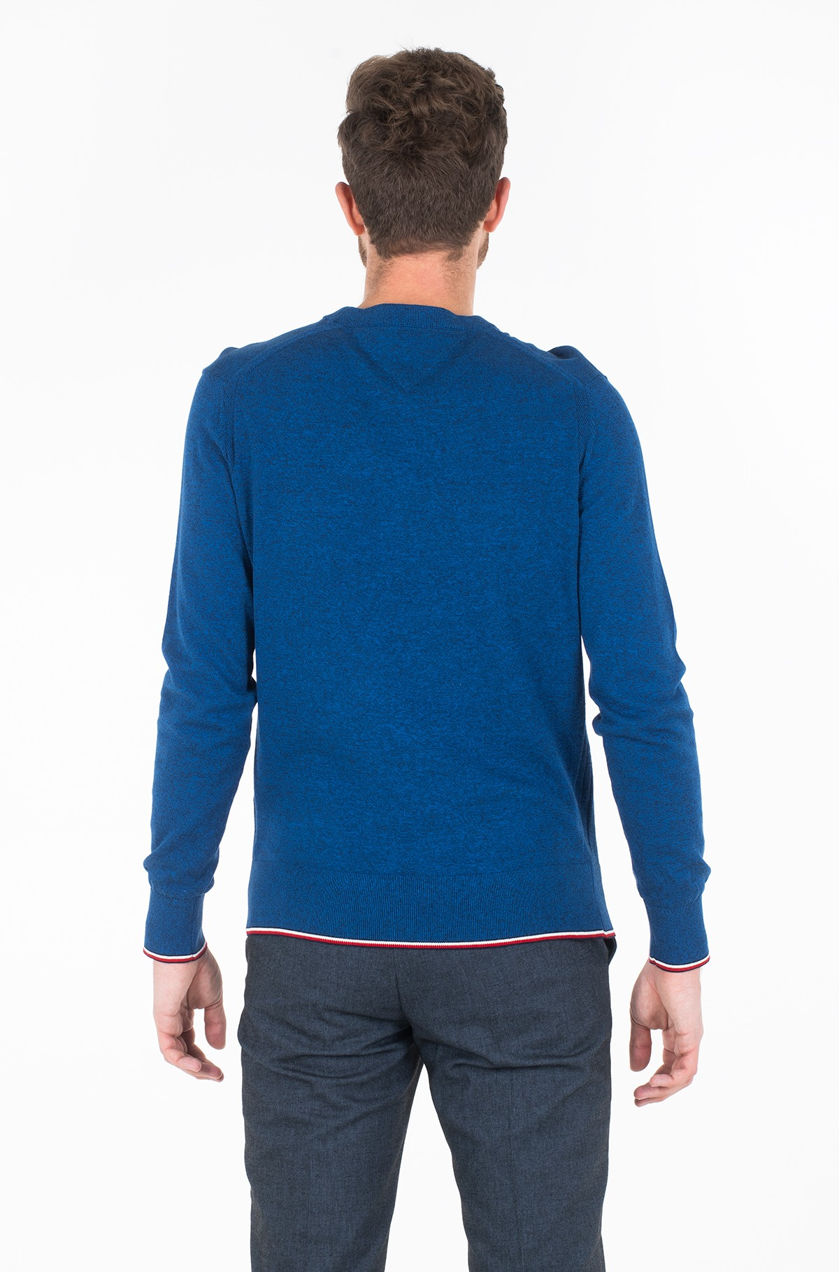 Džemperis TIPPED MOULINE CREW NECK-full-2